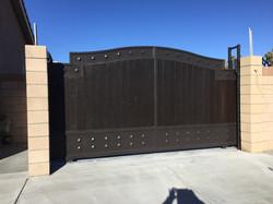 Wrought Iron RV Gate
