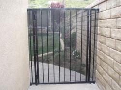Wrought Iron Single Gate