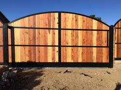Wood Iron RV Gate