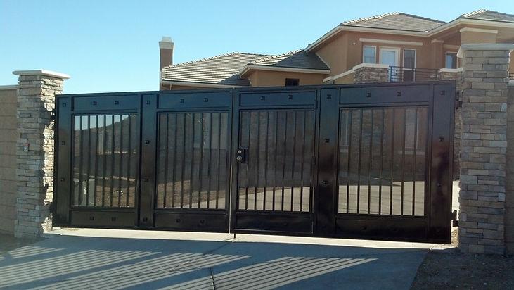 Custom Wrought Iron Gate