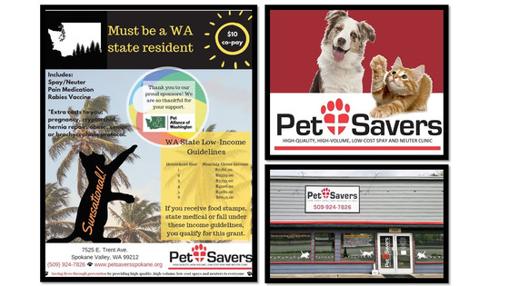 Media Release: Pet Alliance of Washington Announces $5,000 Donation to Pet Savers