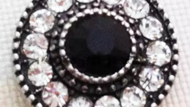 Black Clear Bling