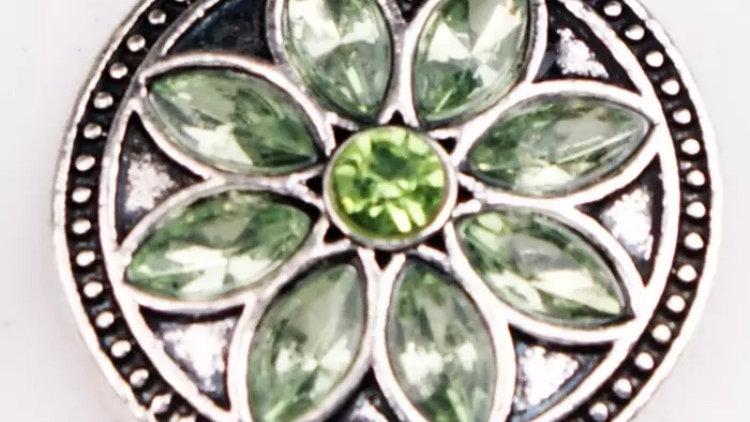 Green burst flower