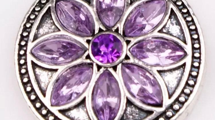 Purple burst flower