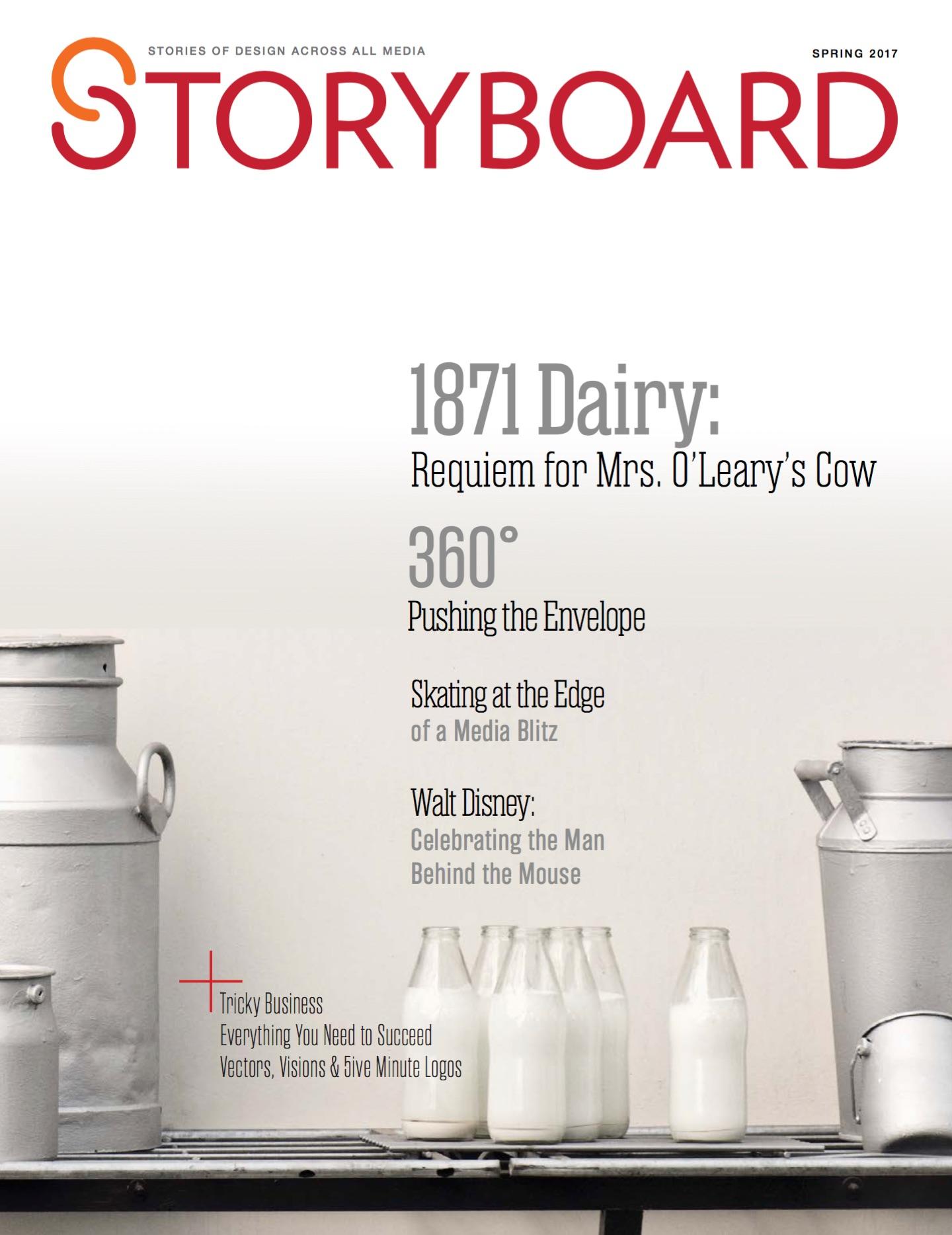 Storyboard magazine