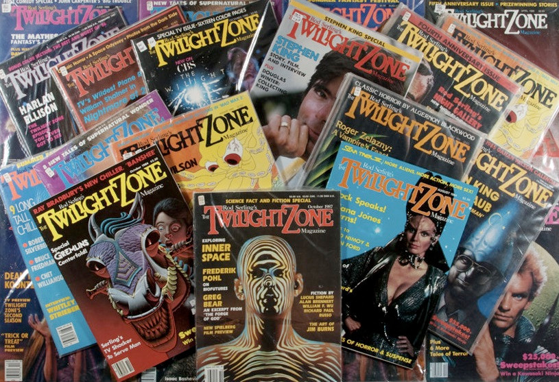 "One of Carol Serling's enduring legacies: ""Twilight Zone Magazine."" (Photo by Heritage Auctions)"