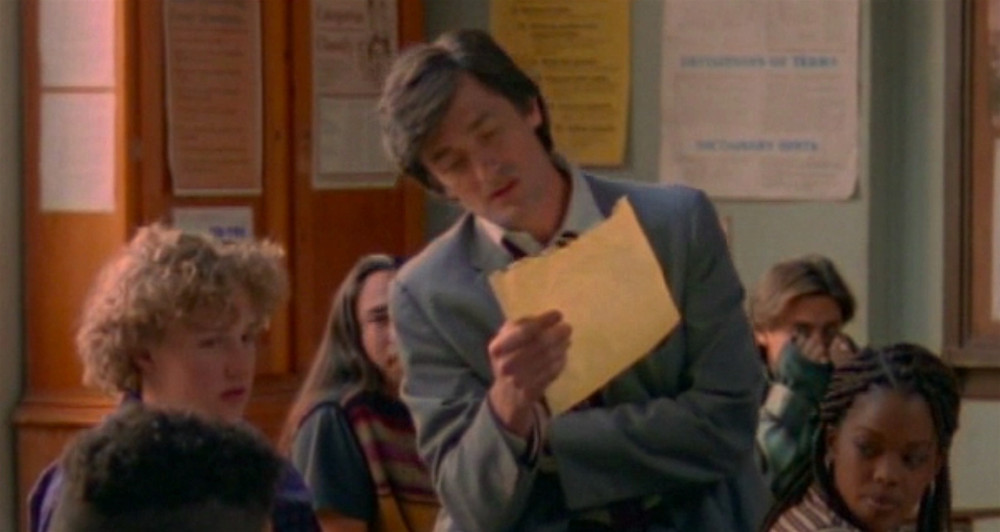 "Roger Rees as Vic Racine in My So-Called Life ""The Substitute"""