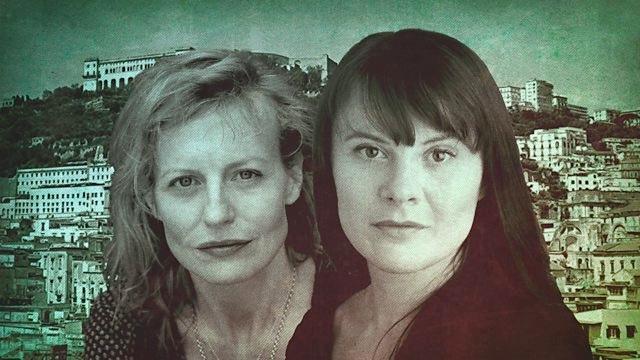 Anastasia Hille (Lila) and Monica Dolan (Lena) star in 'The Neapolitan Novels.'