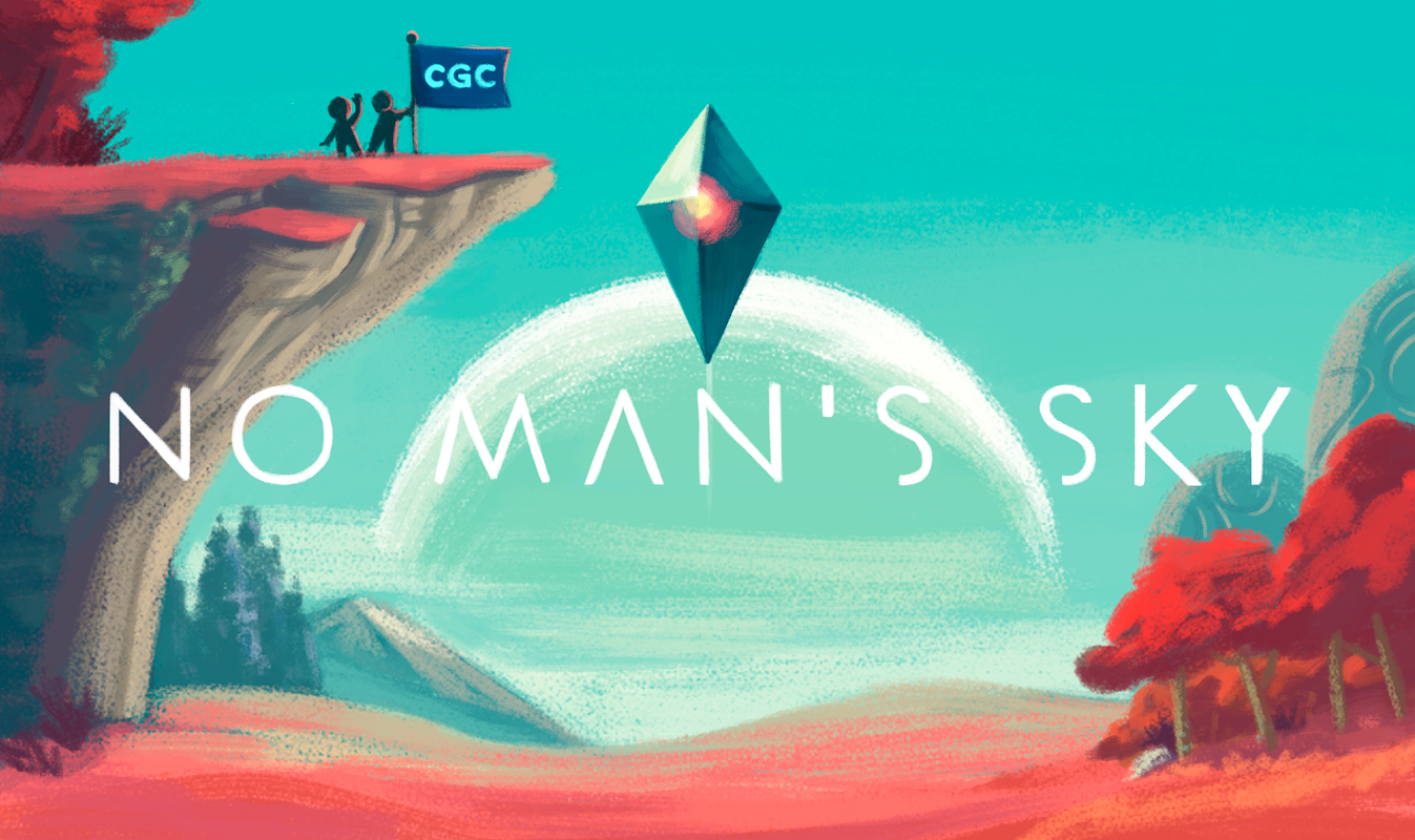 No Man's Sky Splash Page