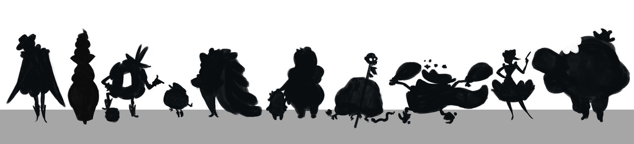 Silhouette Line Up