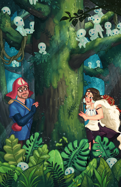 A Meeting In The Forest