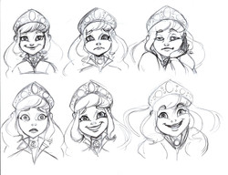 The Youngest Princess Expressions