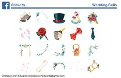 Wedding Bells Sticker Pack