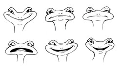 The Frog Expressions