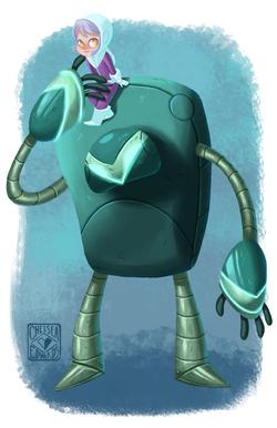 BFR (Big Friendly Robot)