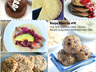 My Top Recommended Recipes of The Week #10 - Gluten Free, Vegan, Paleo, Allergy Friendly & More