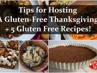 Tips for Hosting a Gluten-Free Thanksgiving + 5 Gluten Free Recipes!
