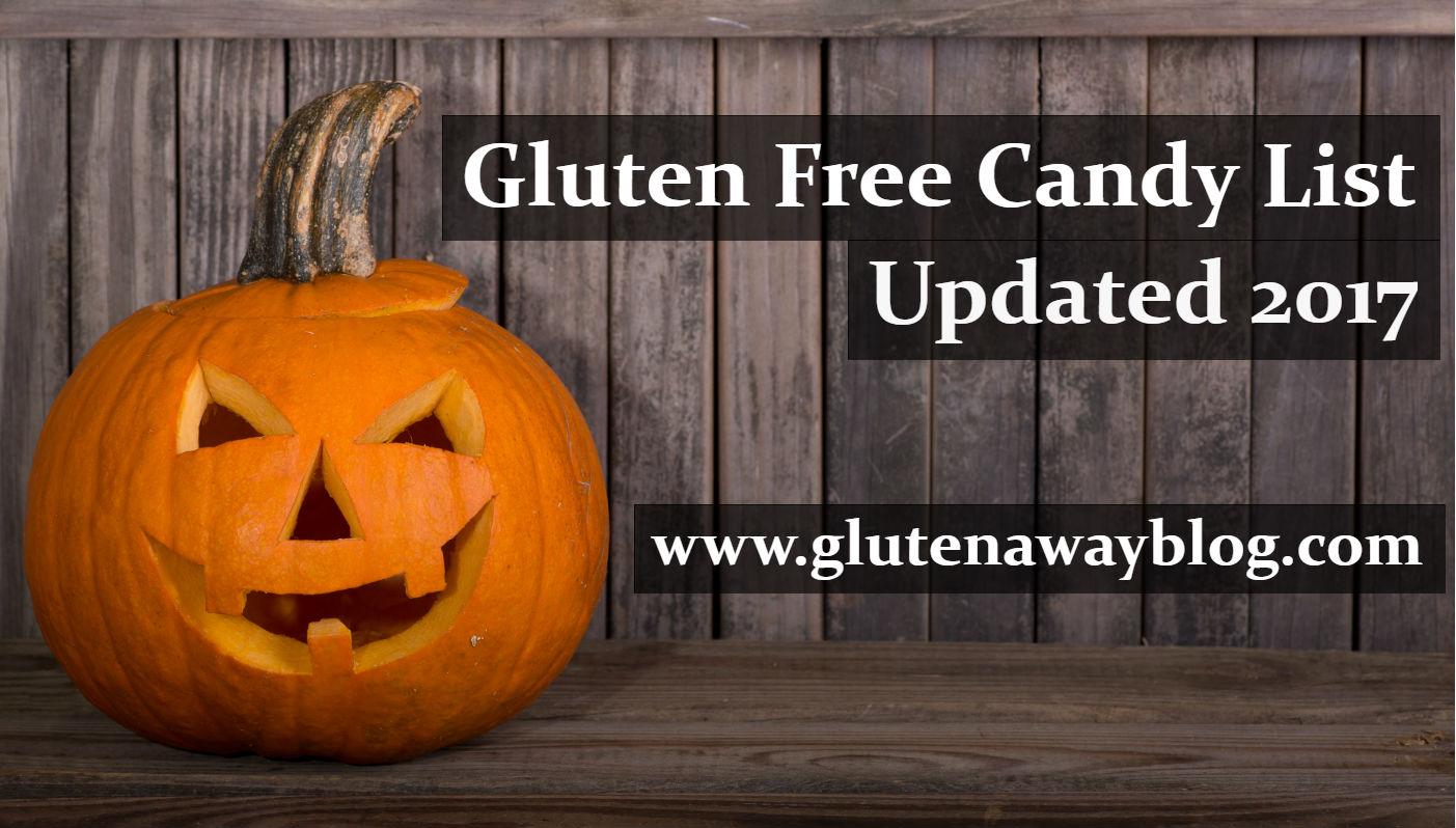 Gluten Free Candy List (Updated October 2017)   Empowerment