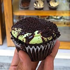Peppermint Patty Cupcake