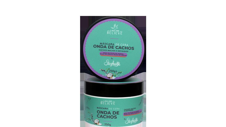 Mascara de Cera Onda de Cachos by Stephânia