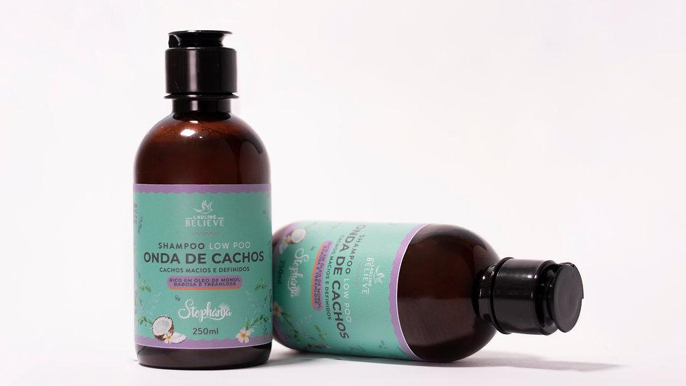 Shampoo Onda de Cachos by Stephânia