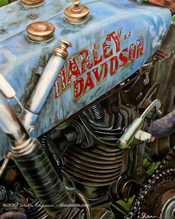 1916 Harley Davidson 8 Valve F Head Race