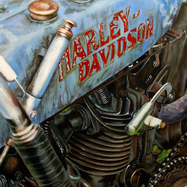 1916 Harley Davidson 8v F Head Racer