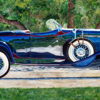 1932 Auburn 8100a Phaeton Sedan