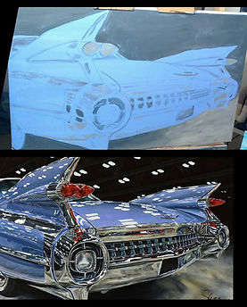 1959 Cadillac El Dorado progress pic