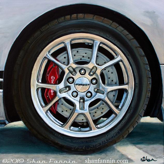 2005 Silver Ford GT Wheel