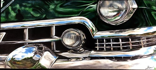 1951 Green Cadillac