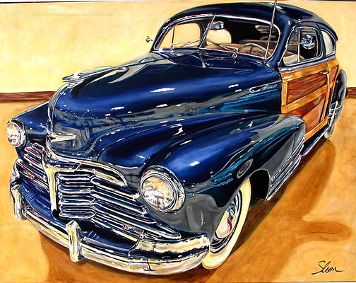 1948 Chevrolet Fleetmaster Fleetline Sportsman Sedan