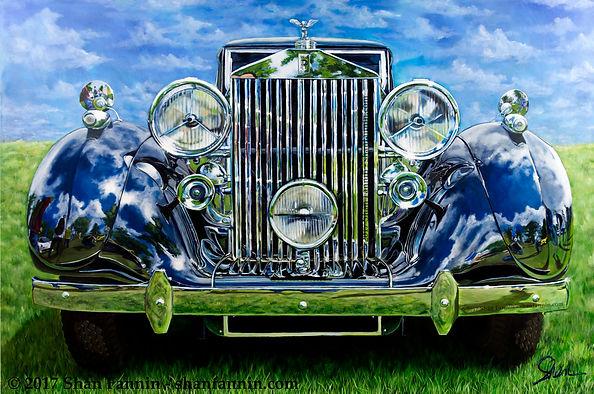 1937 Rolls Royce Phantom III Parkward Sedanca deVille