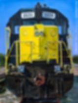 WAMX 3535 train engine