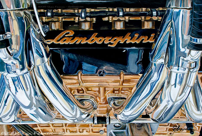 Lamborghini L804 V12 engine