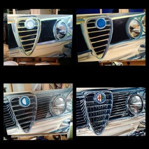 Alfa Romeo Work in progresss