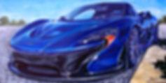Blue McClaren P1