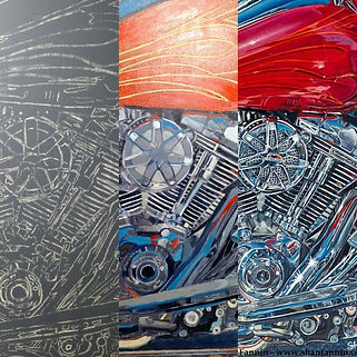 Progression of a 2017 Harley Davidson