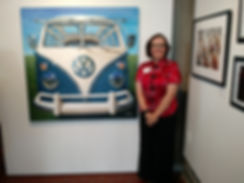 Shan and 1967 VW Samba Bus