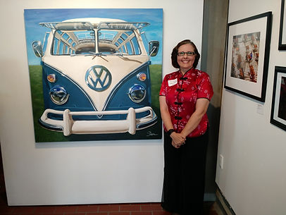 Shan and 1967 VW Samba Bus