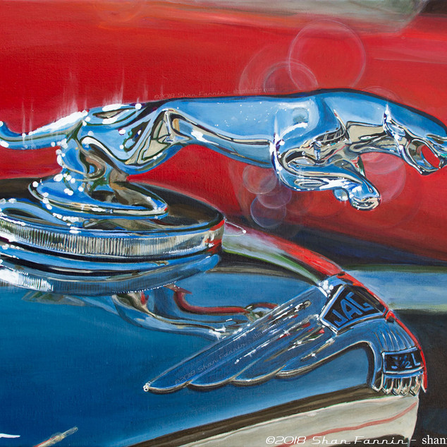 1948 Jaguar Mk IV Hood Ornament