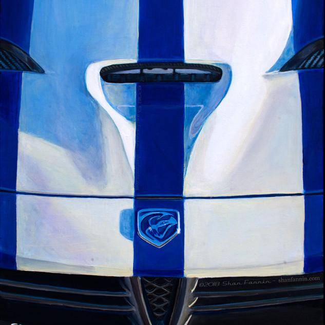 2015 Blue Viper Detail