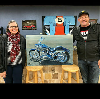 2015 Harley Davidson CVO Breakout and Shan and owner