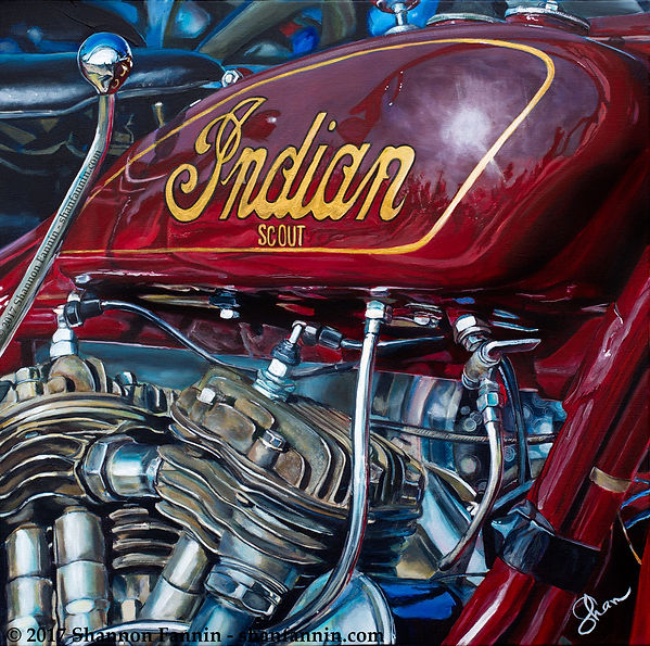 1930 Indian Scout 101 Motorcycle