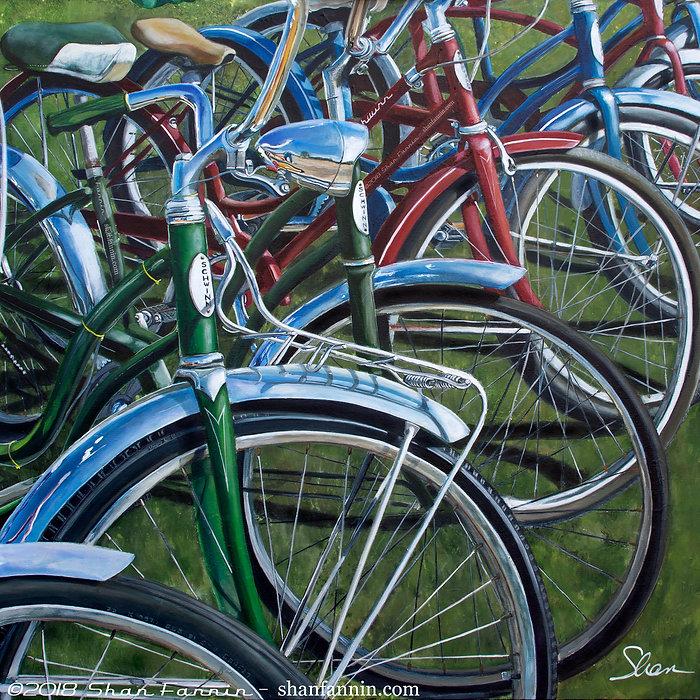 Pack of Schwinn Bicycles