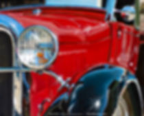 1930 Red Ford Model A