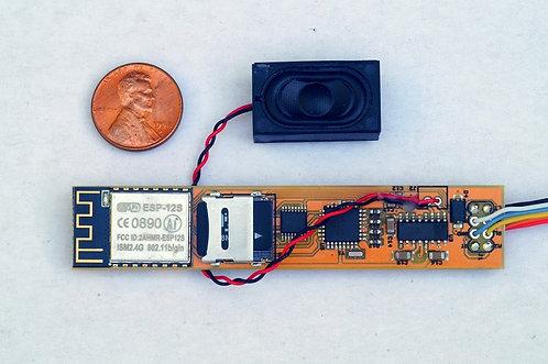 DDLLHA - LocoFi™ | 1st Gen WiFi Sound Decoder for Diesel Locos (Rated for 2A)
