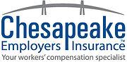 Chesapeake Employers Logo Dark Blue and