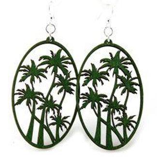 Palm Tree Earrings # 1173