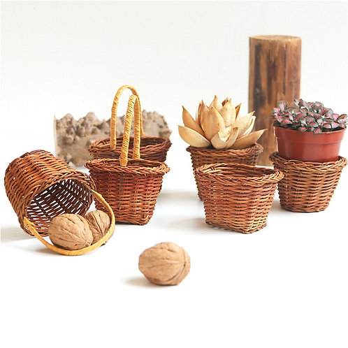 Rattan Weaving Storage Basket.
